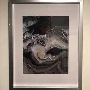 Other - Print of my acrylic painting 8x10 with the frame